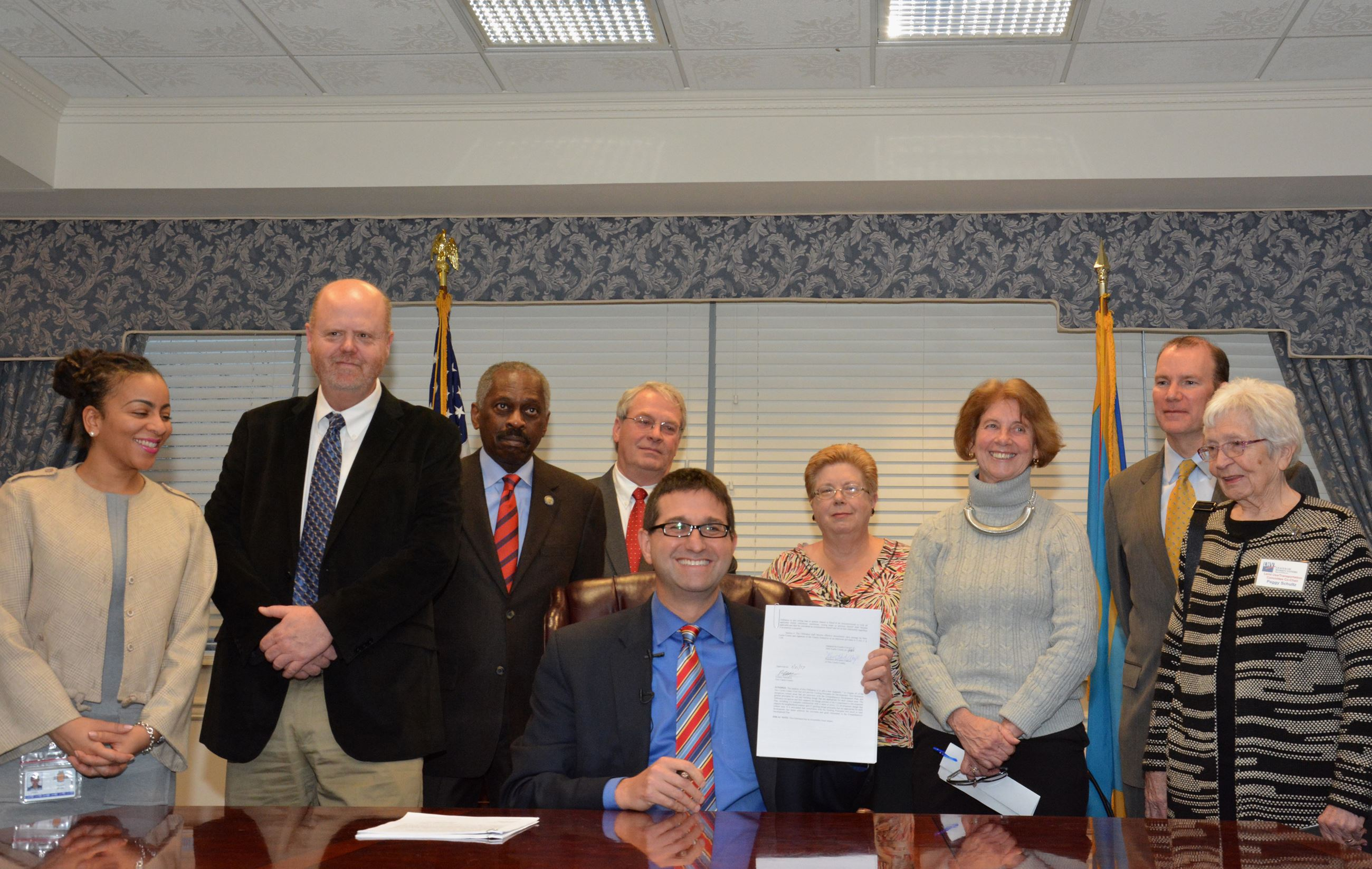 Signing New Land Use Legislation 1-17