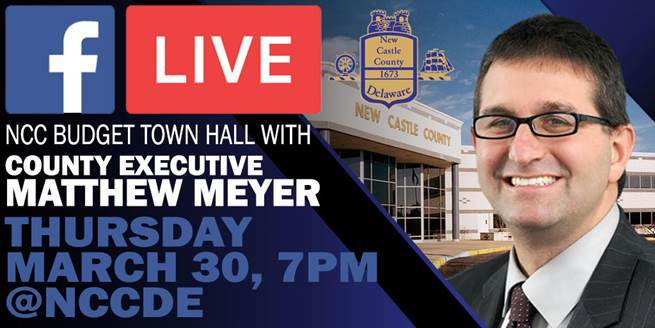 March 30 facebook live town hall