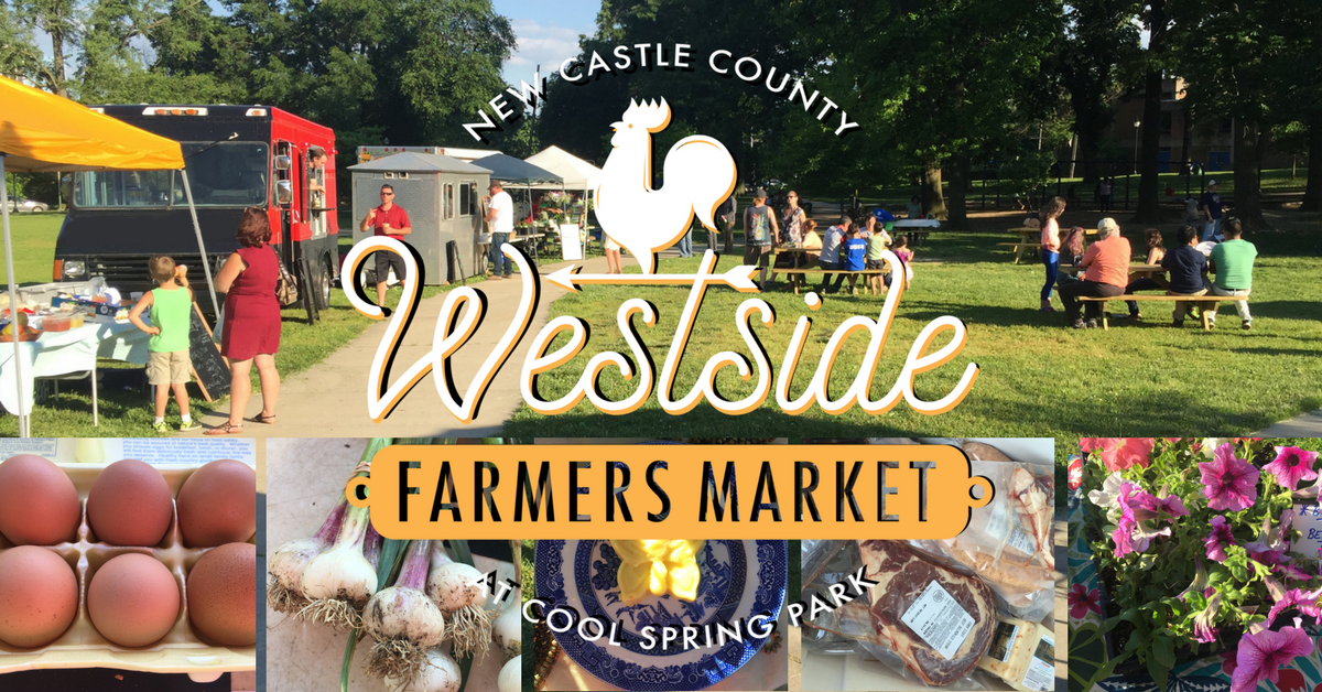 New Castle County Westside Farmers Market at Cool Spring Park