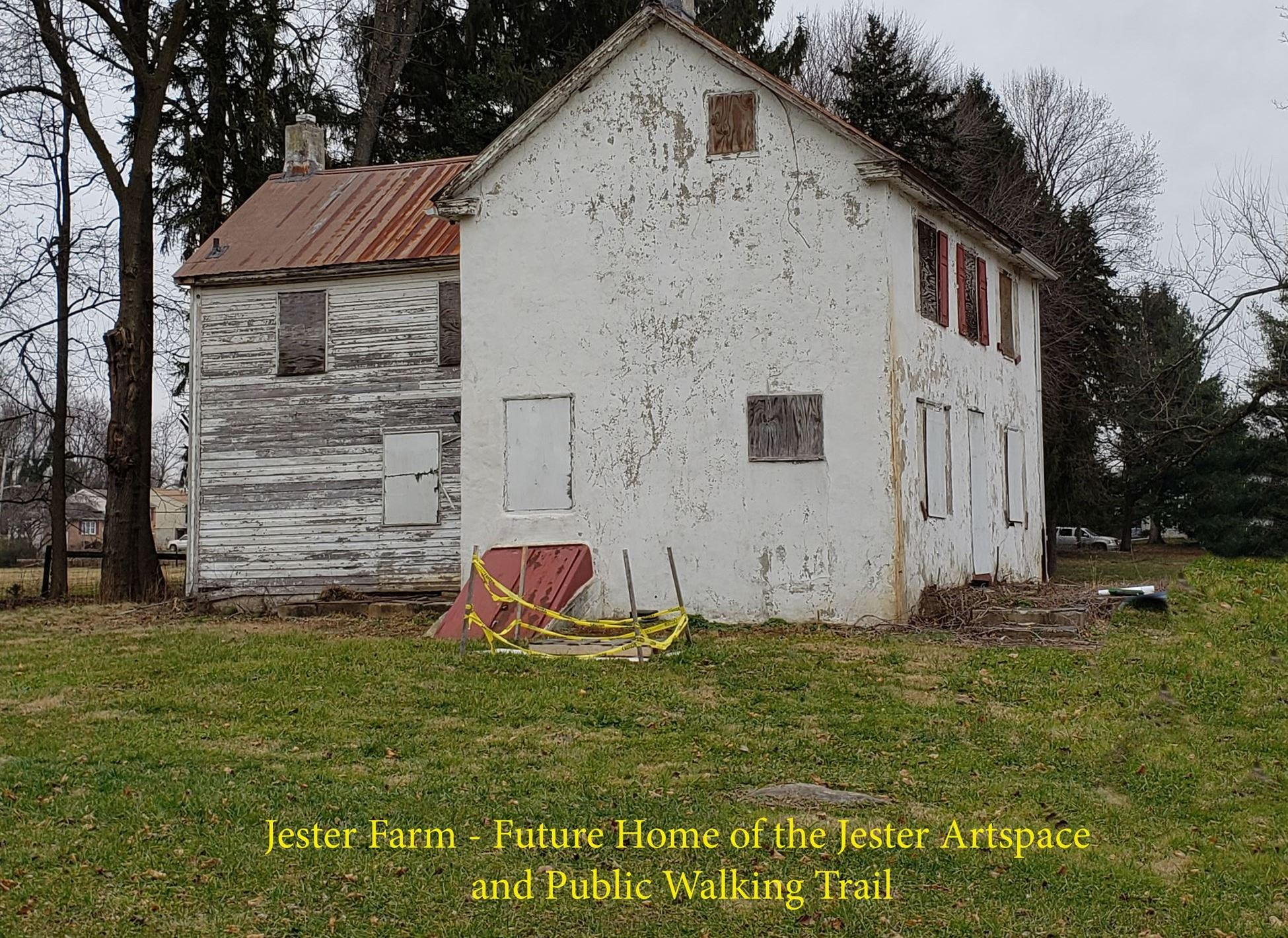 Jester Farm - Future Home of the Jester Artspace and Public Walking Trail