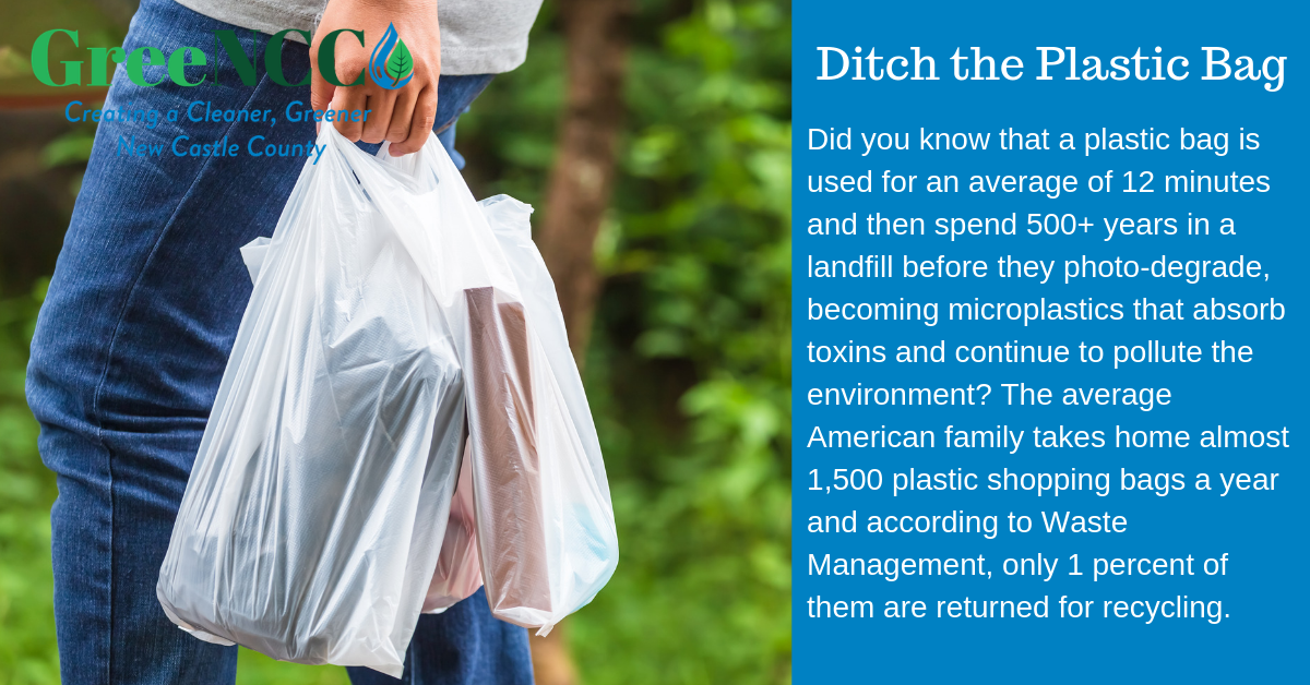 Did you know that a plastic bag is used for an average of 12 minutes and then spend 500+ years in a