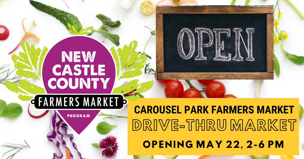 Carousel Park Farmers Markets Reopens May 22, 2020