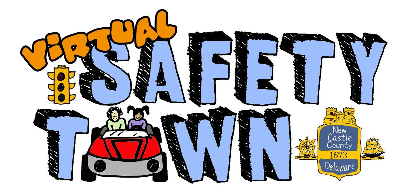 virtual safety town graphic
