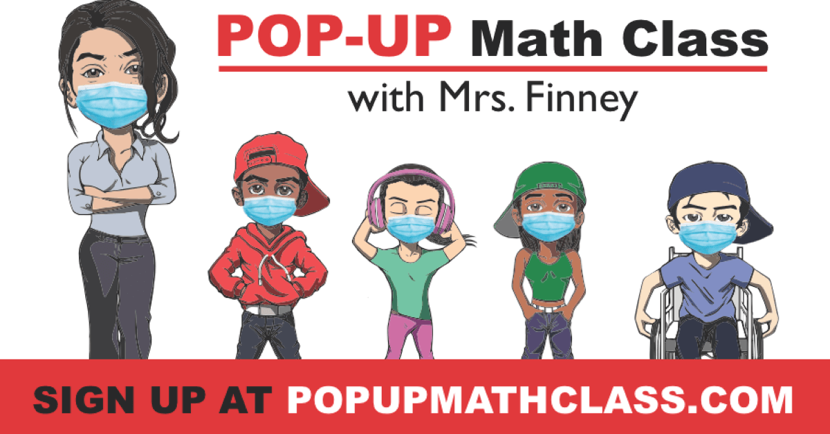 pop up math