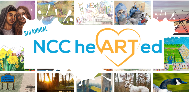 2021 NCC heARTed Art Contest Graphic