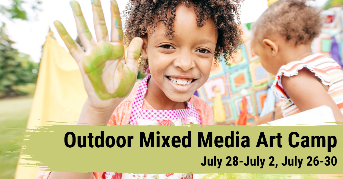 outdoor mixed media camp