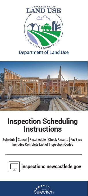 Inspection Scheduling brochure Opens in new window