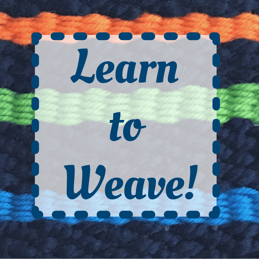 Mini Art Lessons - Learn to Weave